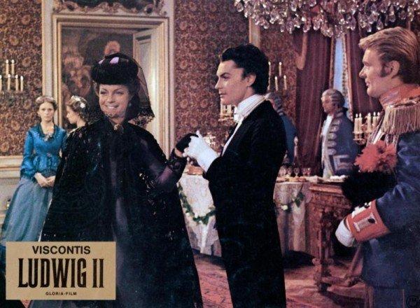 Louis Vuitton: abito di Romy Schneider in Ludwig