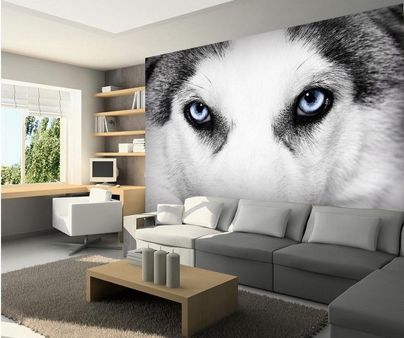 photo murale husky